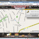 Monopoly City Streets - o tabuleiro.